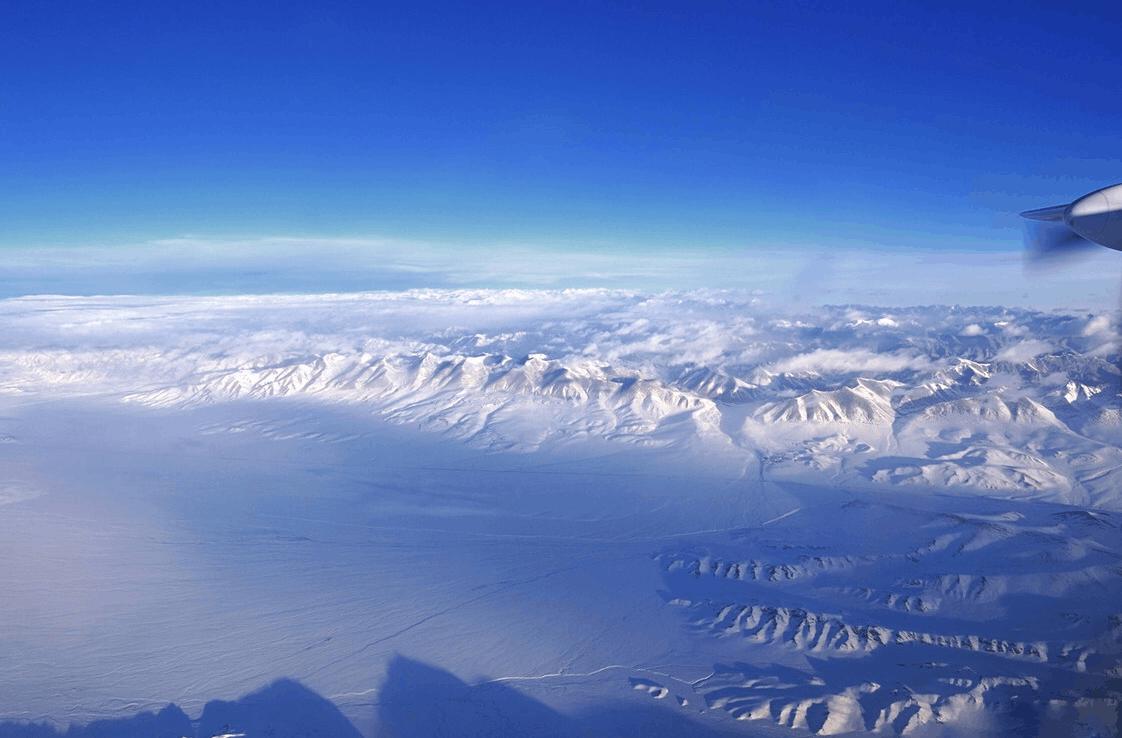 上帝视角看新疆 惊艳航拍图带你领略不一样的美!