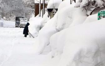 日本多地普降大雪交通受阻已致182人伤