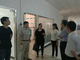 运城市委组织部领导来鑫华翔公司现场调研