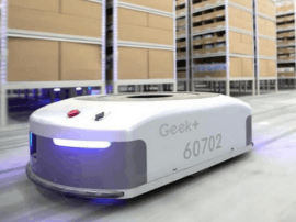 仓储机器人企业Geek+获约1亿元A+轮融资