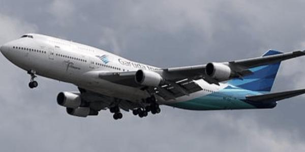 印尼鹰航退役波音747客机