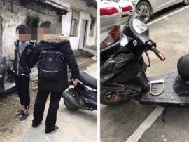 桂林七星区接二连三丢电动车 偷车5人全被抓