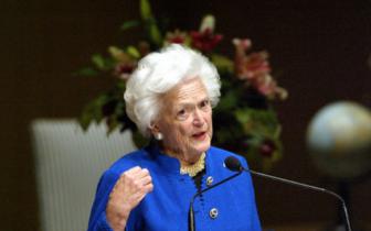 前美国第一夫人、老布什夫人芭芭拉·布什去世