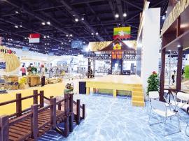 海景搬进场馆来 东博会11个展台什么最抢眼?