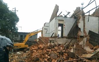 """硫酸厂宿舍列入旧改项目""""五一""""前拆除九成以上"""