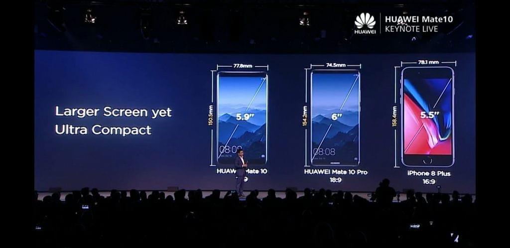 华为发布新机Mate 10挑战三星苹果 外媒这样看