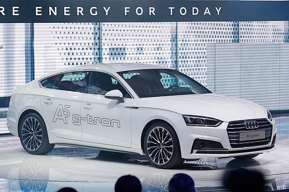 天然气+汽油 奥迪A5 g-tron即将海外上市