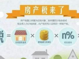房地产税又有最新消息!快看你的房子要被收多少钱?