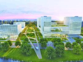 青岛北部医疗中心年底主体完成 2018年试运行