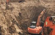 陕西男童掉入深井被救出