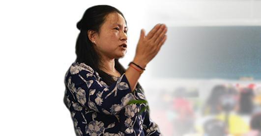 """贵阳最美乡村教师刘芳""""我为家乡代言"""""""