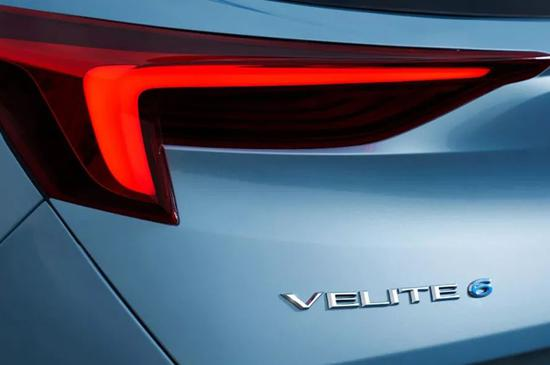 定名VELITE 6 别克全新新能源车预告图