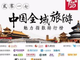 中国全域旅游魅力指数排行榜揭晓 山西1市2县入选