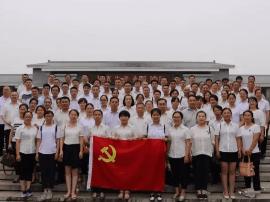 闻喜县人社局党员干部赴侯马彭真故居开展警示教育