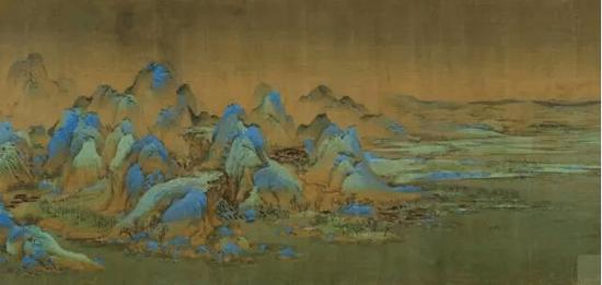 三次装裱五次进宫的《千里江山图》