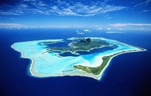 最接近天堂的地方塔希提岛