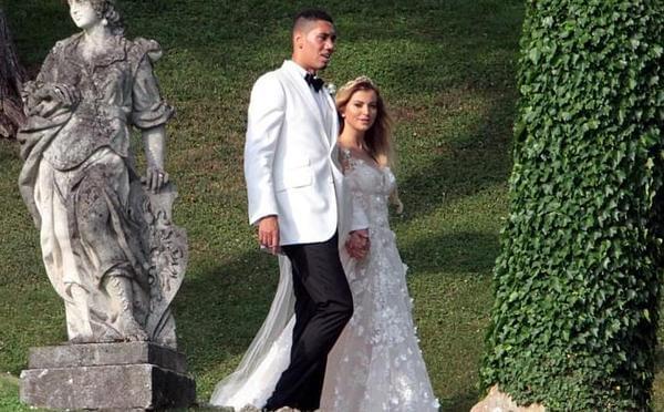曼联铁卫在意大利举行婚礼 鲁尼携娇妻出席