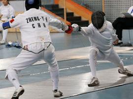 山西第十五届运动会击剑资格赛在朔州结束