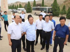 运城市委书记刘志宏在临猗调研黄河水利建设工作