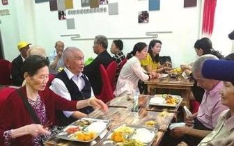 昆明市五华区江岸社区爱心食堂开业了