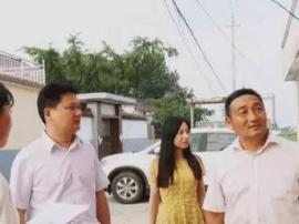 姜堰区张甸镇党委书记 镇长督查文明城市创建工作