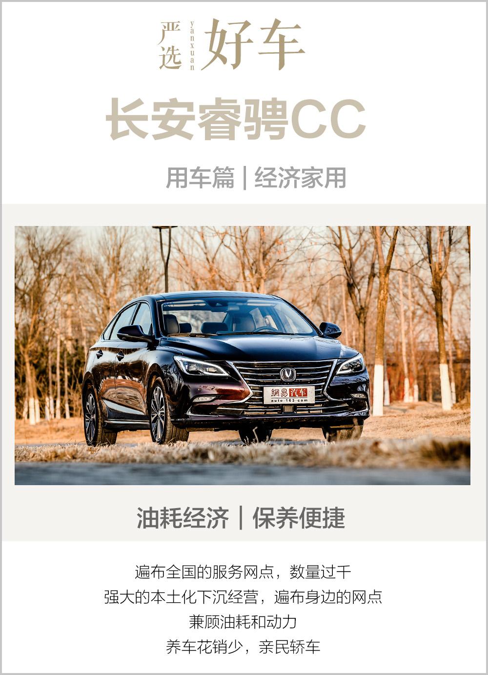 严选好车之睿骋CC 用车成本处同级优势位