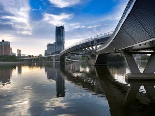 太原将投资6500万元 再造一座跨汾河人行桥