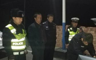 黎城一男子毒驾上路被交警查获 已被行政拘留
