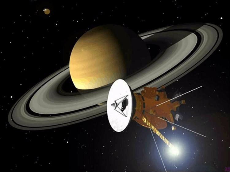 """""""卡西尼""""号完成土星和土星环间首次穿越"""