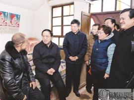 运城市委书记刘志宏深入调研平陆县张店镇张郭村