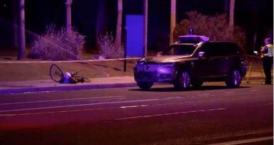 Uber自动驾驶车祸调查:探测到行人但未作出反应