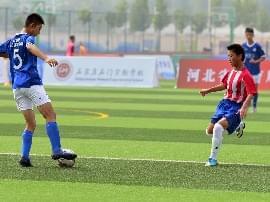 河北省中学生校园足球联赛开幕式在石门实验