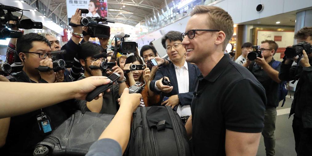 多国记者抵京 赴朝鲜见证拆除核试验场