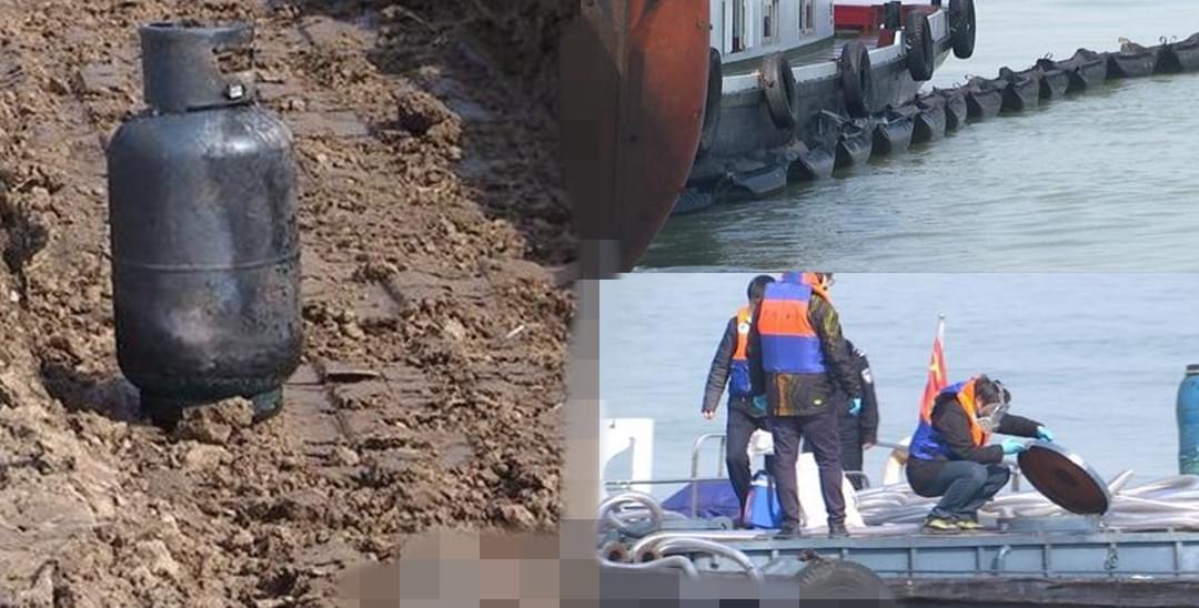 长江南京段多船爆燃 已采取隔离措施