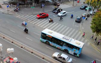 因道路改造工程需要 朝阳南路4条公交线路调整