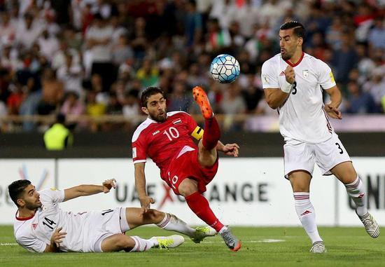 世预赛-叙利亚客场2-2伊朗