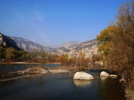 介休汾河生态修复堤外调蓄水工程正式开工