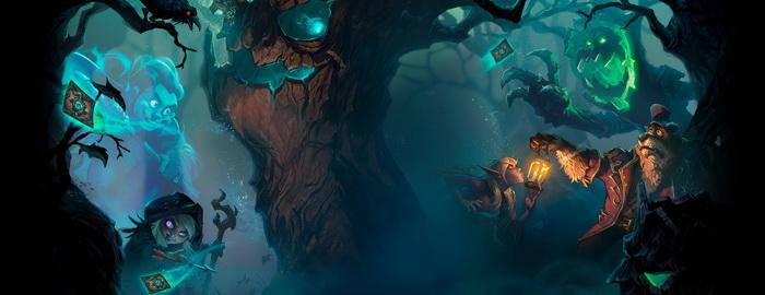 """炉石传说""""女巫森林""""同人画作大赛全作品展示"""