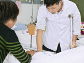 中医钱忠生:骨折仍带病上班 原是不放心病人