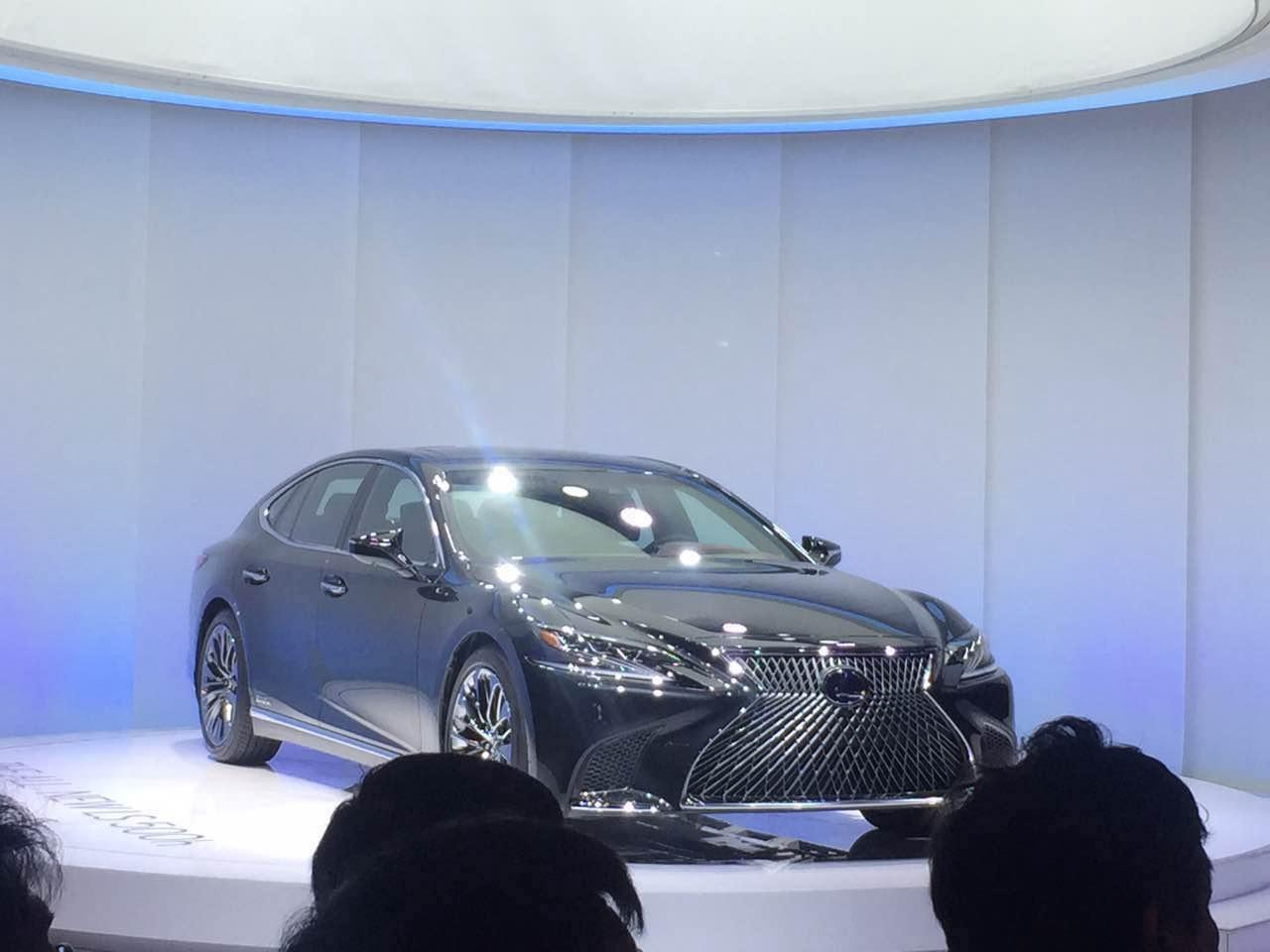 2017年上海车展:雷克萨斯全新LS 500h亮相