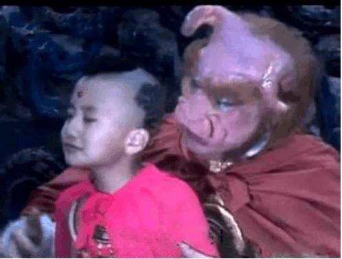 红孩儿变身熊孩子 只因牛魔王少给了他一件东西
