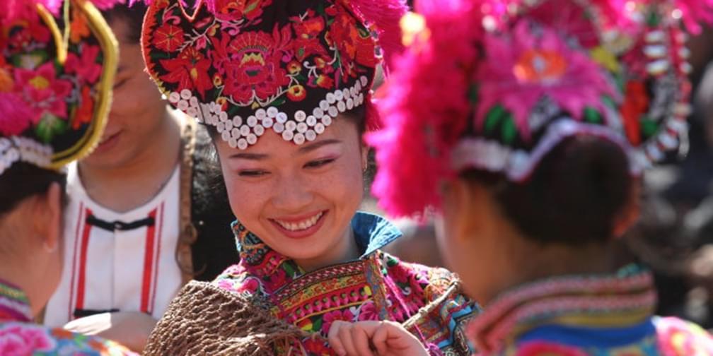 七彩云南·千年彝族赛装尽显民族风韵