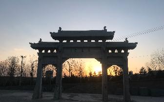 古色古香华严寺