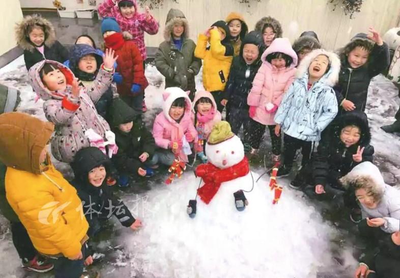 """冰""""雪""""聪明的小小艺术家"""