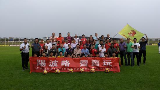 广东超级杯佛山杯启动 佛山文盈出战大湾区联赛