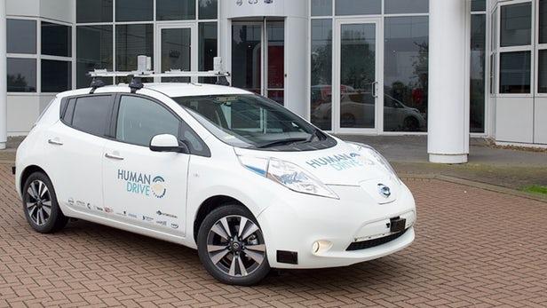 不遗余力推动自动驾驶 英国开展HumanDrive测试