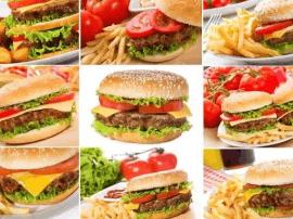 I am big eater!我是大胃王!2斤重的汉堡谁敢来战?
