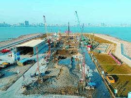 国内首座8度地震烈度区的海底隧道工程进展顺利