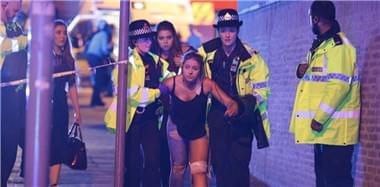 英国曼彻斯特体育场发生爆炸 数人死伤