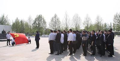沧州移动开展党员教育活动 重温了入党